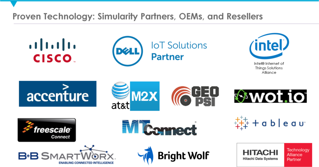 iot partners for predictive analytic experts like Simularity
