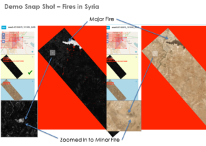 automated image anomaly detection in syria