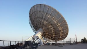satellite ground receiving station can download images for ai anomaly detection in real time