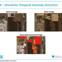 simularity digitalglobe ai satellite image anomaly detection